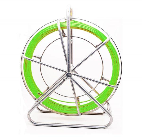 laucha pasa-cable verde