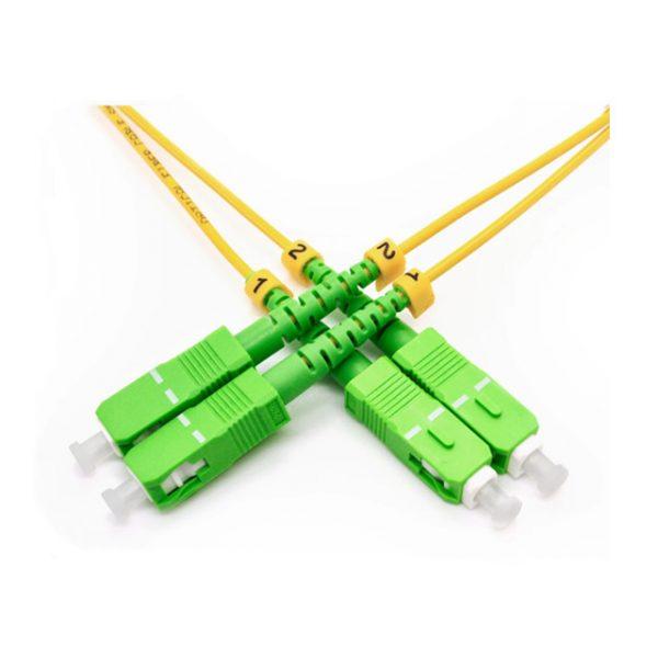 CABLE JUMPER F.O SC/APC - SC/APC DUPLEX 30M